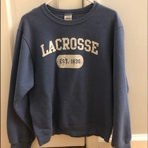 Lacrosse Crew Neck Sweatshirt